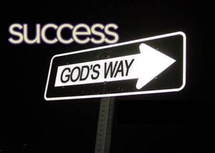 Success is God's way