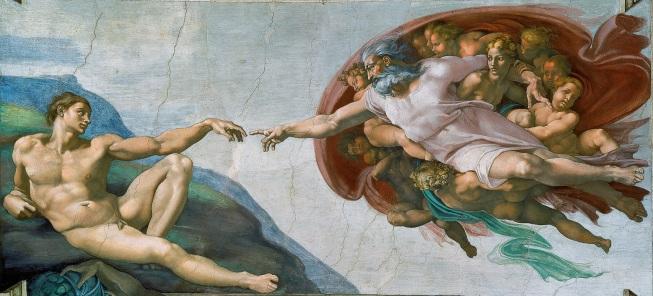 Criação de Adão (Michelangelo)